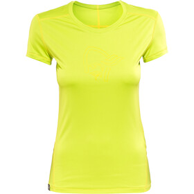Norrøna /29 tech T-Shirt Donna, birch green/mellow yellow